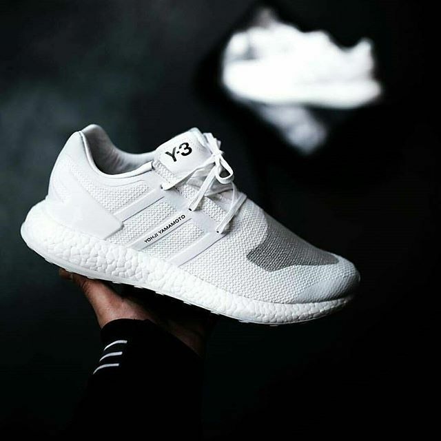2017 adidas Consortium Y-3 Pure BOOST White Primeknit PK 3M - BY8955 Great discount