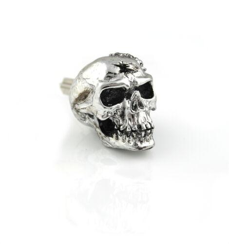 Chrome skull skeleton blank ignition key YAMAHA R1 R6 F1 GTS v star road royal