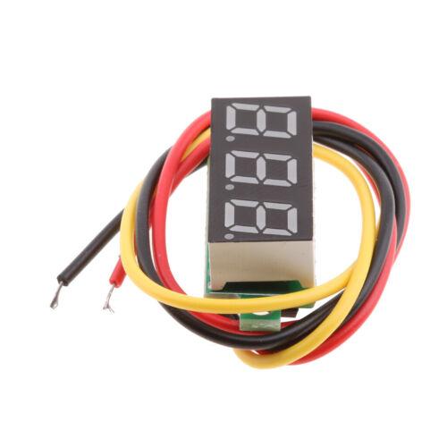 Digital-Amperemeter//Voltmeter LED Display Strom Spannung Tester Rot