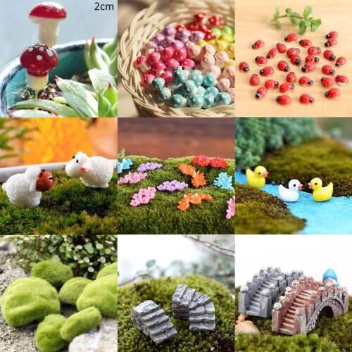 Tier Harz Miniatur Handwerk Fee Garten Landschaft Dekoration Harz Handwer pk#1