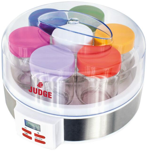 Judge Yoghurt Maker Including 7 Handy Jars - JEA46