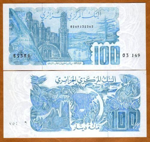 1982 P-134 Algeria UNC 100 Dinars