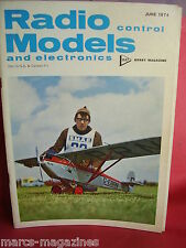 "RCM&E JUNE 1974 THROTTLE BENDERS 362 40.5"" SPAN PETER RUSSELL SKYLEADER CLUBMAN"