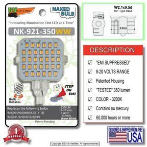NK-921-350WW (NAKED BULB) Vented Bulb, 921 Base, 350 LM, 8