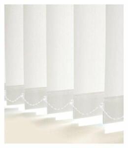 Somerton Plain White Custom Made Vertical Blind