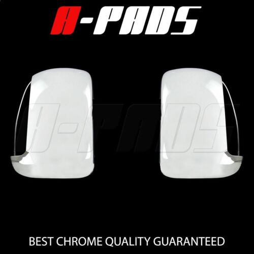 FOR FORD F-250//350//450 SUPER DUTY 99~00 01 02 03 04 05 06 07 CHROME MIRROR COVER