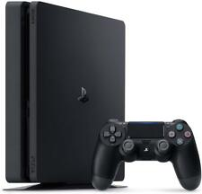 Sony PlayStation 4 Slim 1TB Jet Black Console Brand New