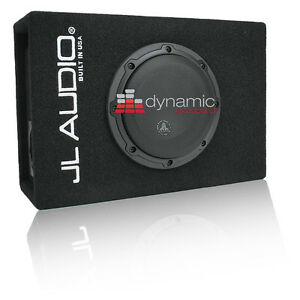 Jl audio cp106lg w3v3 6 1 2 microsub slot ported for L ported sub box design