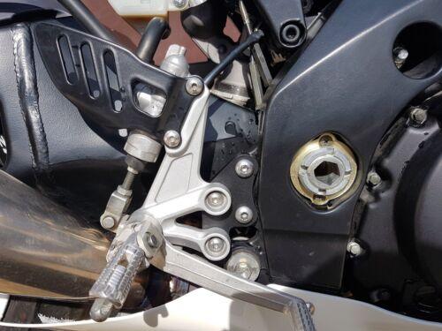 Suzuki 2005-2006 K5 K6 GSXR1000 GSXR 1000 Riser and Lowering Plates Rearsets