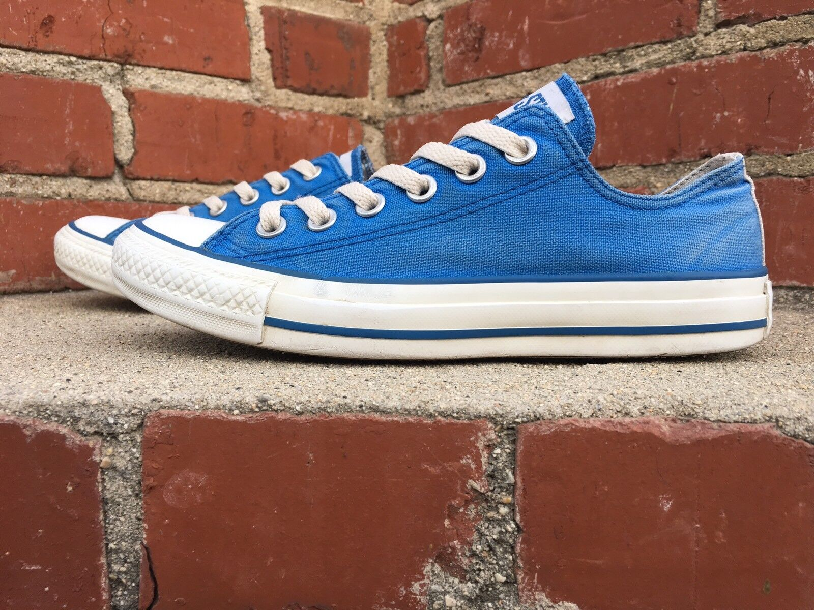 Converse Chuck Taylor AS bluee Ox Low Top Sneaker 231586F Men 4.5 Women Size 6.5