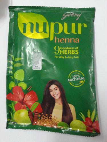 Godrej Nupur Herbal Heena Powder - 100 % Natural Excellent Results - BEST OF ALL