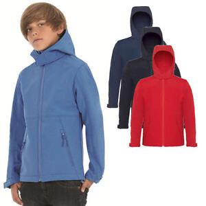 b c kinder softshell jacke kids hoodie sweatshirt shirt mantel pulli 110 164 ebay. Black Bedroom Furniture Sets. Home Design Ideas