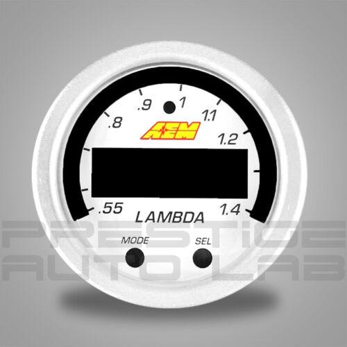"AEM X-SERIES Wideband Gauge Faceplate White Accessory 2-1//16/"" 52mm 30-0300-ACC"