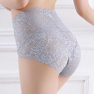 meilleure valeur prix plancher meilleur Détails sur Cn _ Femme Sexy Sous-Vêtements en Dentelle Culotte Taille Haute  sans Couture
