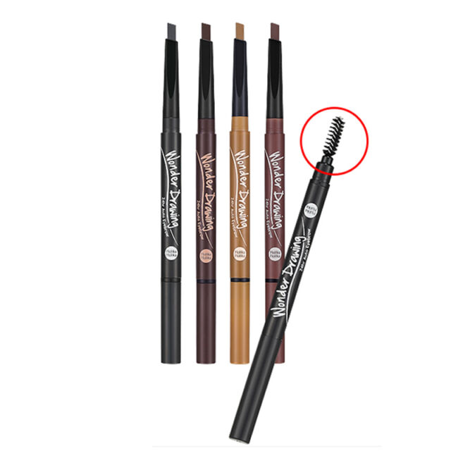 [HOLIKA HOLIKA]  Wonder Drawing 24HR Auto Eyebrow 4 Color / Korea cosmetic