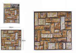 D piastrella mattonella adesivo da parete muro pannello cm