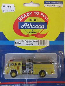 Athearn-1-87-Ford-Firetruck-Pumper-Feuerwehr-USA