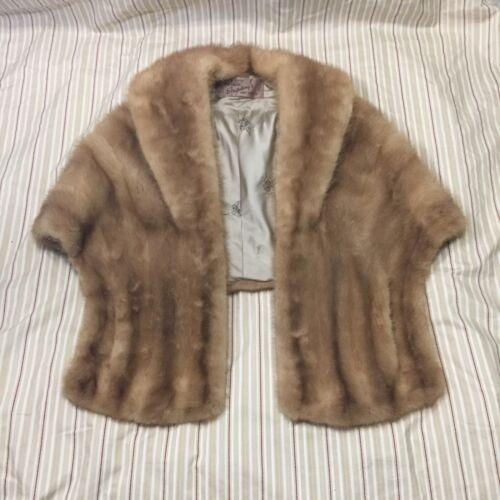 Vintage Diadem Emba Mink Stole Stripling's Fur Sal