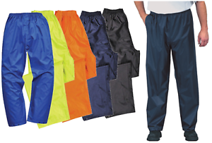 Portwest Active Waterproof Rain Trousers Over Pants Lightweight Unisex S441