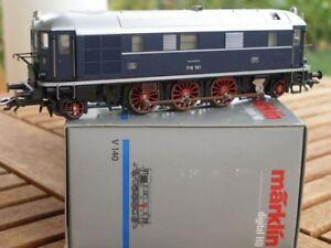 Maerklin-37203-H0-DIGITAL-aus-Set-Diesel-Urahnen-V-160-der-DRG-Ep-2-gut-erhalten