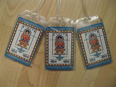 Alaska Eskimo Luggage Tags - Vintage 1990 Playing Cards Souvenir Name Tag (3)