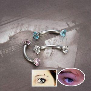 16G-Crystal-Rhinestone-Threaded-Steel-Nose-Lip-Eyebrow-Ear-Ring-Piercing-Jewelry