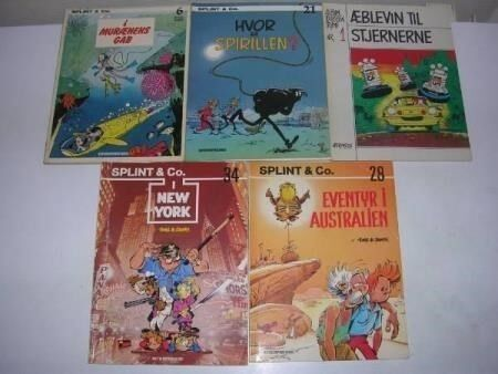 Tegneseriealbum til 20 kr