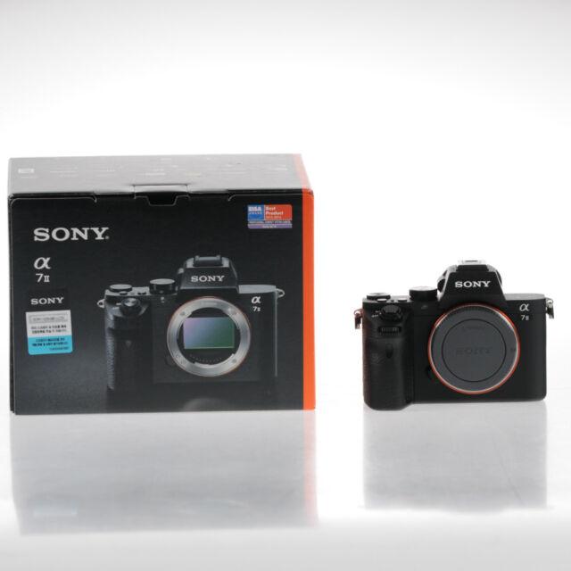 Sony Alpha A7ii Mirrorless Digital Camera Body Only - MINT | eBay