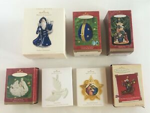 Hallmark-Keepsake-Ornaments-Lot-Of-7