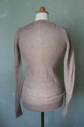 Slim Checked Alta s37 gr P qualità O'polo 36 Bianco Marc Pullover Pattern Beige Lungo xw0pgnEqX
