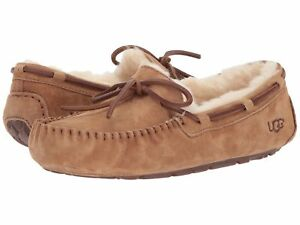 40ee5b6e470 Details about Women's Shoes UGG Dakota Moccasin Slippers 5612 Chestnut 5 6  7 8 9 10 *New*