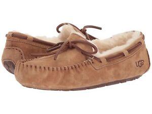Women s Shoes UGG Dakota Moccasin Slippers 5612 Chestnut 5 6 7 8 9 ... e407f2e47