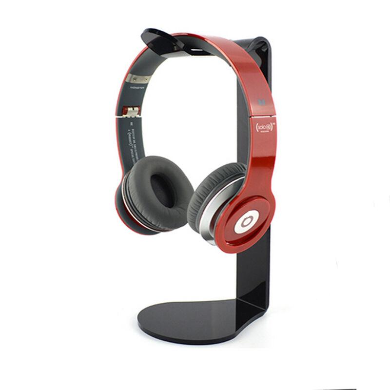 headset hanger holder headphone desk display stand rack black ebay