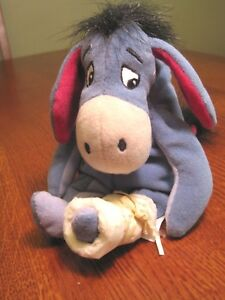 Details about Poor Eeore with a bad leg made Only for The Walt Disney Store  Beanie Baby