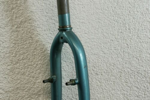 Radsport 1 1/8 Gewindeschaft Starrgabel Stahlgabel Gabel 26 Grün Kult Retro