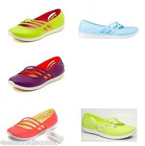 best service a482a 2a538 Caricamento dellimmagine in corso ADIDAS-QT-Comfort-Sandali-Donna-Adidas -Scarpe-Spiaggia-