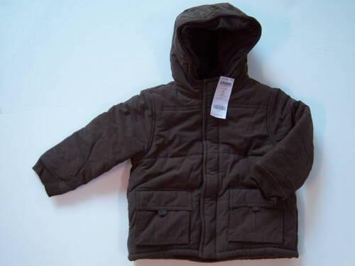 NWT Gymboree Arctic Adventure Lined Parka Coat 4//4T-5T