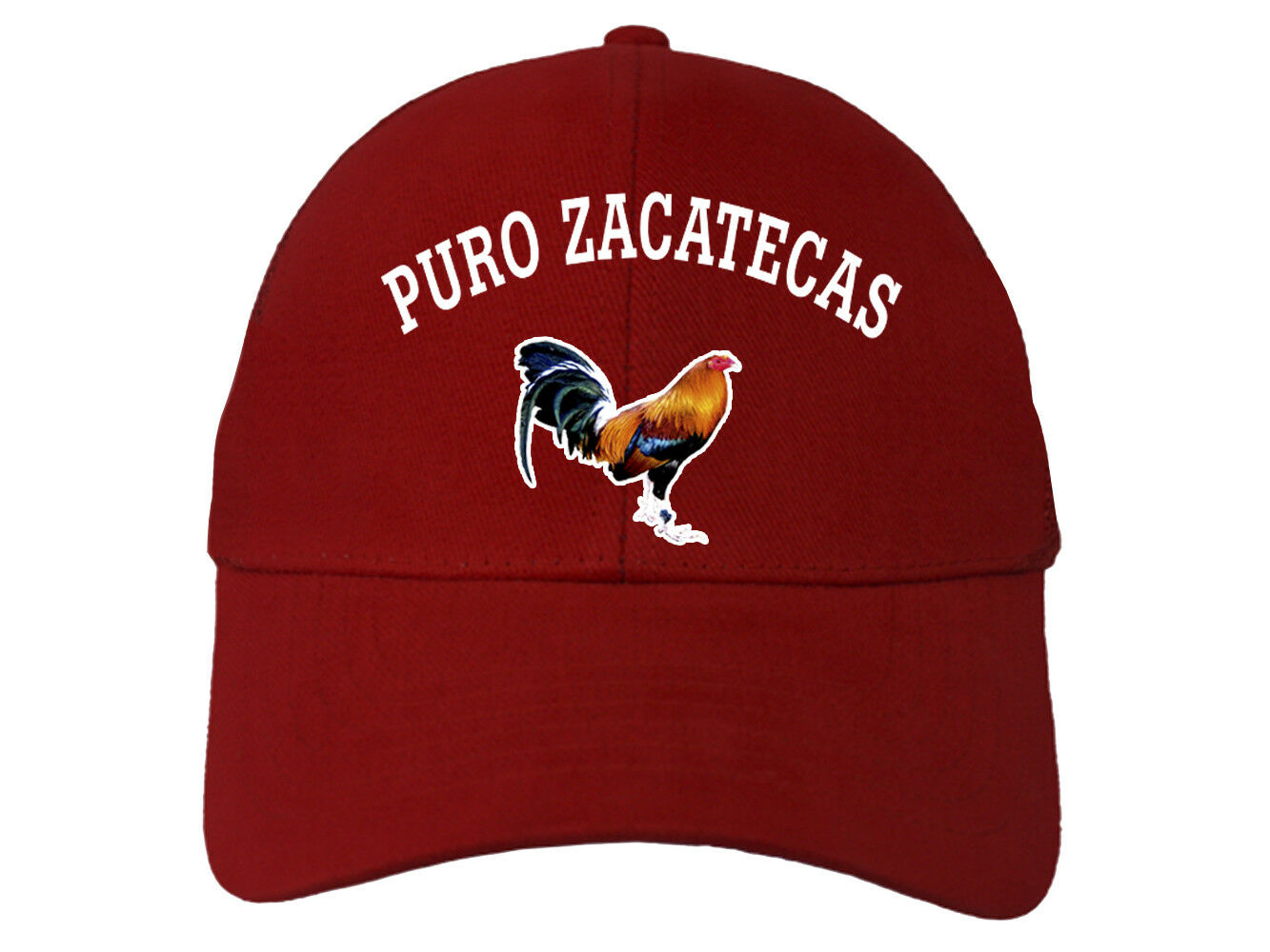 Cap Hat Puro Zacatecas/_ Adjustable Strap/_ 100/% Cotton/_Digital Transfer Logo/_