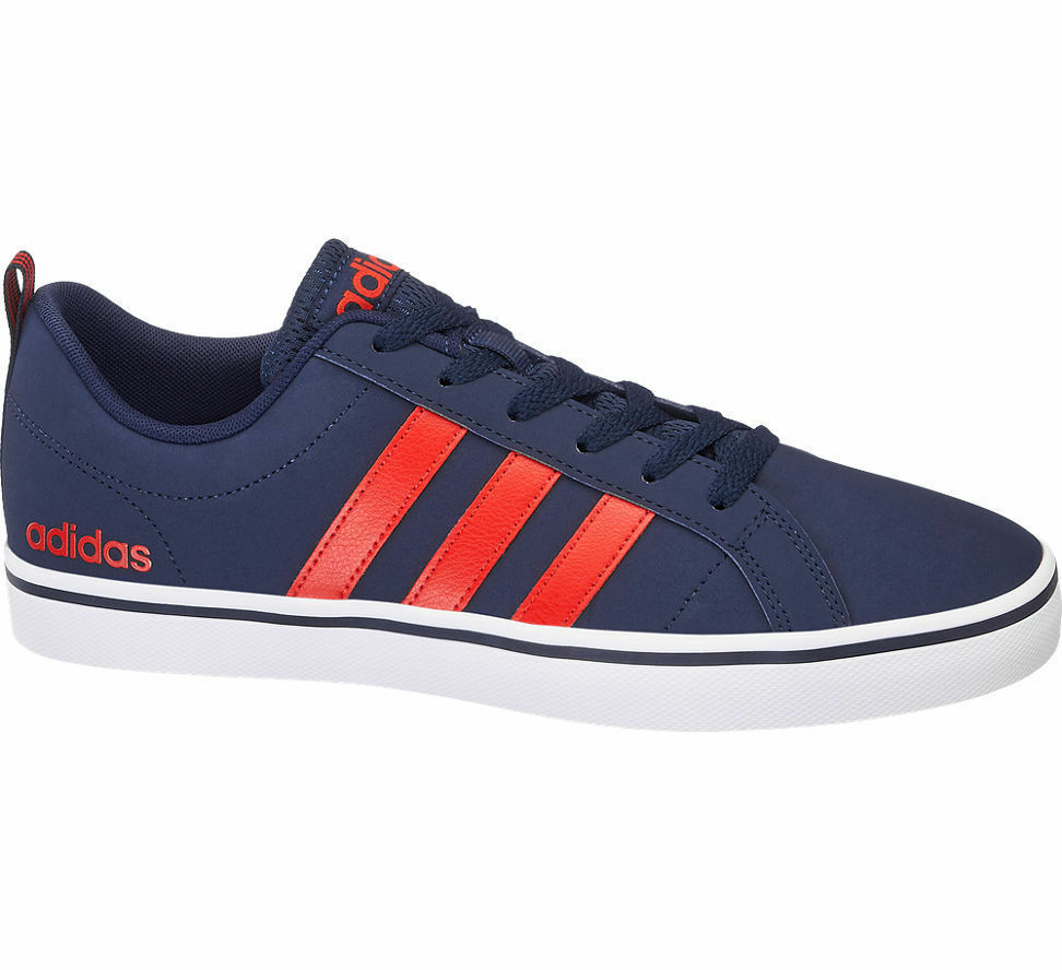 ac3c5ab82 Adidas Men s Men s Men s VS Pace Sneakers Trainers bluee Red Stripe New  With Box US12.