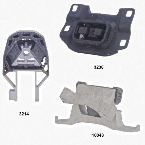 2.5L Engine /& Transmission Mounts set 3pcs fits Volvo C70 S40 V50 2.4L