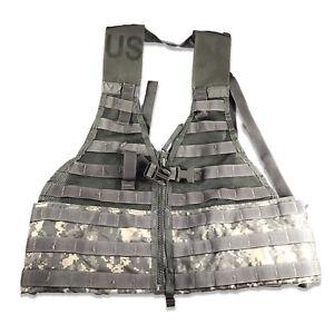 Tactical-Fighting-Load-Carrier-Vest-MOLLE-II-ACU-FLC-SDS-USGI-LBV-US-Army-Used
