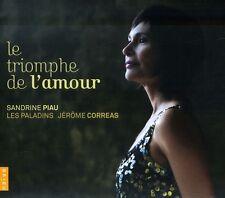 Sandrine Piau - Triomphe de L'amour [New CD]