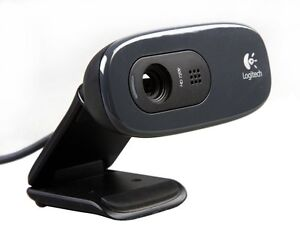Logitech-HD-Webcam-C270-720p-video-3MP-CAMERA-Skype-MSN-Built-in-mic-RightSound