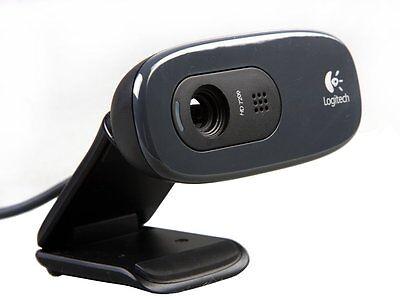 Logitech HD Webcam C270 720p video 3MP CAMERA Skype MSN Built-in mic RightSound
