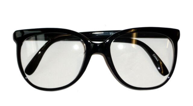 Nerd Glasses Clear Lens 60s Glasses Clark Kent Glasses 70s Glasses 6906