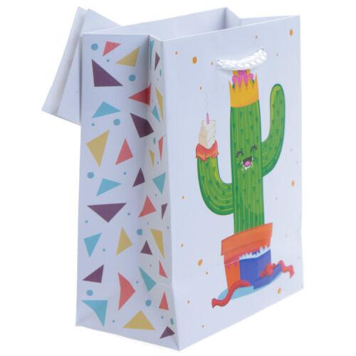 Small Medium Large Many Designs Birthday Boys Girls Cute Glossy Gift Bag