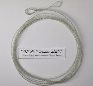 Custom Monofilament Tapered Furled Leader 84 Inch 4-6 WT Lines - Light Green
