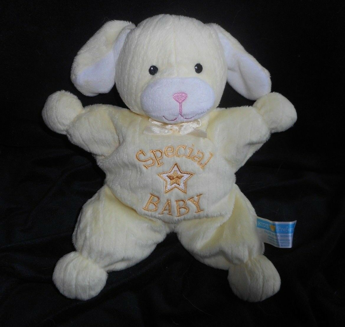 KIDS PREFERROT SWEET DREAMS SPECIAL BABY Gelb DOG STUFFED ANIMAL PLUSH TOY