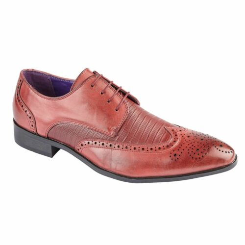 Mens Charles Southwell Brogue Official Casual Party Office Work Shoes UK 7-12