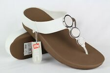 43eddbef276 item 3 New Fitflop Women s Halo Toe Thong Wedge Sandals 10 Urban White    I42-194-080 -New Fitflop Women s Halo Toe Thong Wedge Sandals 10 Urban  White ...